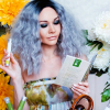 Musegetes Ombre Grey Bob Curly Synthetic Lace Front Wigs HS0032